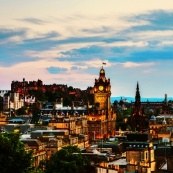 Why January starters in Edinburgh get a unique taste of the capital's culture