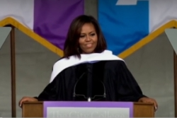 WATCH THIS: Michelle Obama's Commencement Speech for City College New York, 2016
