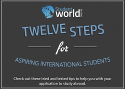 INFOGRAPHIC - 12 Steps for International Students