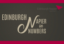 Edinburgh Napier in Numbers: A Visual Guide